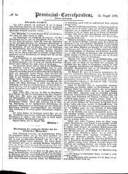 Provinzial-Correspondenz (22.08.1866)
