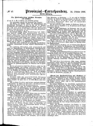 Provinzial-Correspondenz vom 24.10.1866