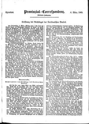 Provinzial-Correspondenz vom 06.03.1869