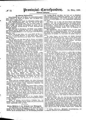 Provinzial-Correspondenz vom 24.03.1869