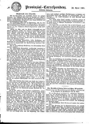 Provinzial-Correspondenz vom 28.04.1869