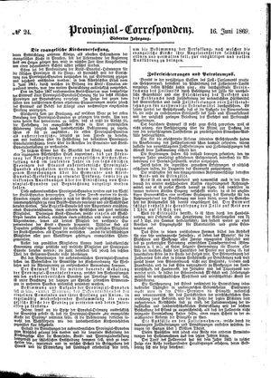 Provinzial-Correspondenz vom 16.06.1869