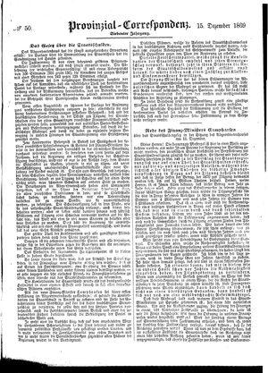 Provinzial-Correspondenz vom 15.12.1869