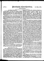 Provinzial-Correspondenz (18.03.1874)
