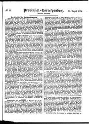 Provinzial-Correspondenz (19.08.1874)