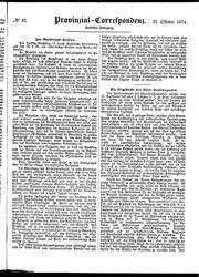 Provinzial-Correspondenz (21.10.1874)