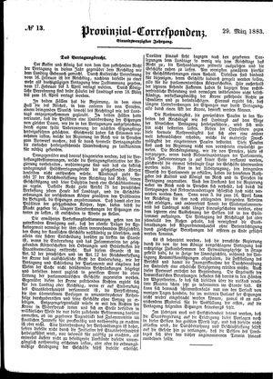 Provinzial-Correspondenz vom 29.03.1883