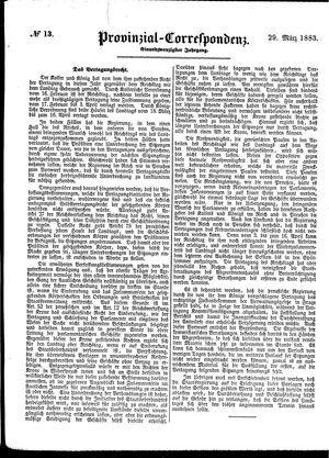 Provinzial-Correspondenz on Mar 29, 1883